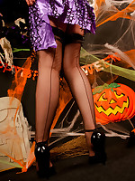 Stockings angel black ff stockings witch uniforms reinforced